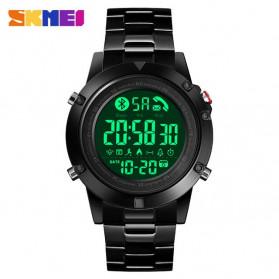 SKMEI Jam Tangan Smartwatch Pria Bluetooth Pedometer - 1500 - Black
