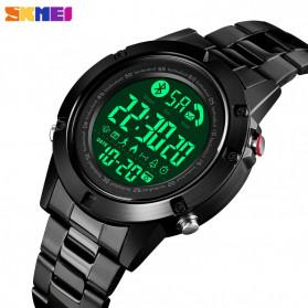 SKMEI Jam Tangan Smartwatch Pria Bluetooth Pedometer - 1500 - Black - 2