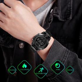 SKMEI Jam Tangan Smartwatch Pria Bluetooth Pedometer - 1500 - Black - 3