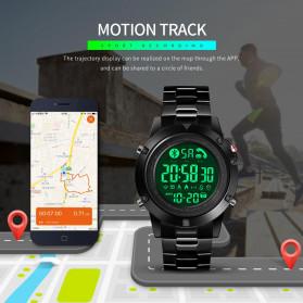 SKMEI Jam Tangan Smartwatch Pria Bluetooth Pedometer - 1500 - Black - 6