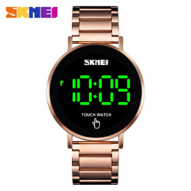 SKMEI Jam Tangan Digital Pria - 1550 - Rose Gold