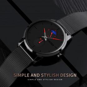 SKMEI Jam Tangan Analog Pria - 9208 - Black - 3