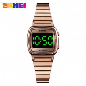 SKMEI Jam Tangan Digital Wanita - 1543 - Rose Gold - 1