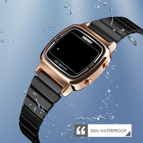 SKMEI Jam Tangan Digital Wanita - 1543 - Rose Gold - 2