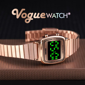 SKMEI Jam Tangan Digital Wanita - 1543 - Rose Gold - 3