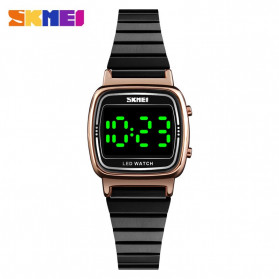 SKMEI Jam Tangan Digital Wanita - 1543 - Black/Rose