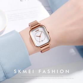 SKMEI Jam Tangan Analog Wanita - 9207 - Rose Gold/White - 4
