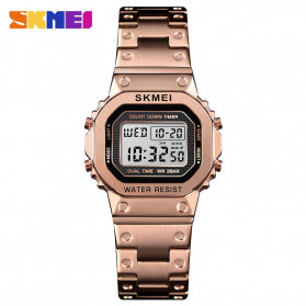 SKMEI Jam Tangan Digital Wanita - 1433 - Rose Gold