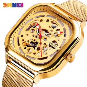 SKMEI Jam Tangan Mechanical Pria Automatic Movement - 9184 - Rose Gold - 2