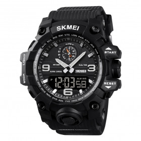 SKMEI Jam Tangan Analog Digital Pria - 1586 - Black