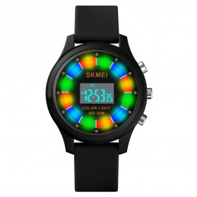 SKMEI Kids Jam Tangan Digital Anak - 1596 - Black