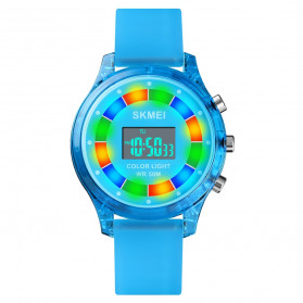 SKMEI Kids Jam Tangan Digital Anak - 1596 - Dark Blue