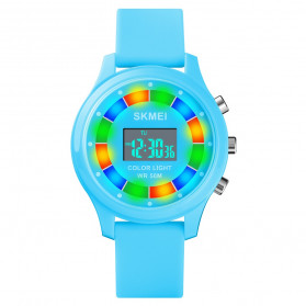 SKMEI Kids Jam Tangan Digital Anak - 1596 - Light Blue