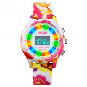 SKMEI Kids Jam Tangan Digital Anak - 1596 - Flower