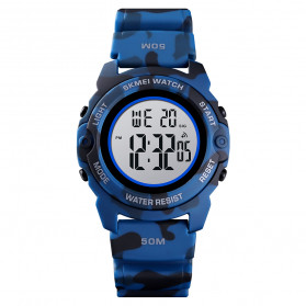 SKMEI Jam Tangan Digital Anak - 1574 - Dark Blue