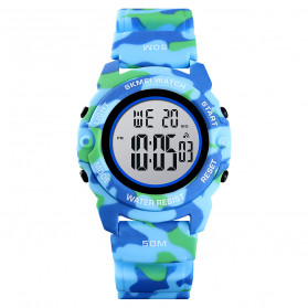 SKMEI Jam Tangan Digital Anak - 1574 - Light Blue