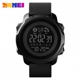 SKMEI Jam Tangan Smartwatch Pria Bluetooth Pedometer Calorie - 1572 - Black