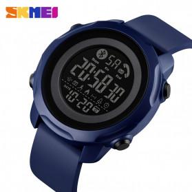 SKMEI Jam Tangan Smartwatch Pria Bluetooth Pedometer Calorie - 1572 - Black - 2