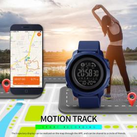 SKMEI Jam Tangan Smartwatch Pria Bluetooth Pedometer Calorie - 1572 - Black - 4