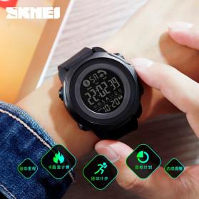 SKMEI Jam Tangan Smartwatch Pria Bluetooth Pedometer Calorie - 1572 - Black - 5