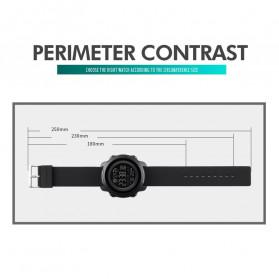SKMEI Jam Tangan Smartwatch Pria Bluetooth Pedometer Calorie - 1572 - Black - 6