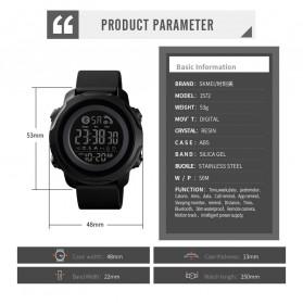 SKMEI Jam Tangan Smartwatch Pria Bluetooth Pedometer Calorie - 1572 - Black - 7