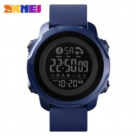 SKMEI Jam Tangan Smartwatch Pria Bluetooth Pedometer Calorie - 1572 - Blue