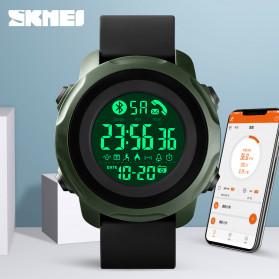 SKMEI Jam Tangan Smartwatch Pria Bluetooth Pedometer Calorie - 1572 - Army Green - 3