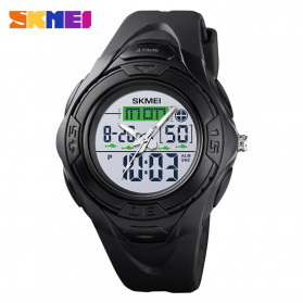 SKMEI Jam Tangan Digital Analog Pria - 1539 - Black