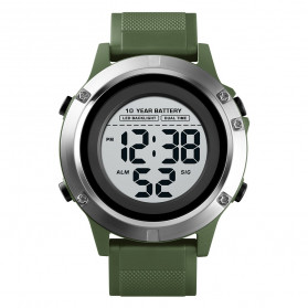 SKMEI Jam Tangan Digital Pria - 1518 - Army Green