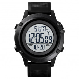 SKMEI Jam Tangan Digital Pria - 1508 - Black White