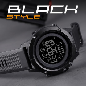 SKMEI Jam Tangan Digital Pria - 1508 - Black/Black - 4
