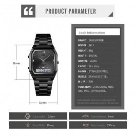 SKMEI Jam Tangan Analog Digital Modern Pria - 1612 - Black - 8