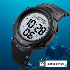 SKMEI Jam Tangan Digital Pria Water Resistant 100M - 1560 - Black - 3