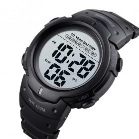 SKMEI Jam Tangan Digital Pria Water Resistant 100M - 1560 - Black - 7