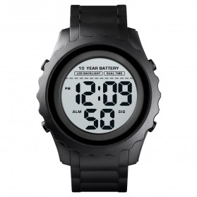 SKMEI Jam Tangan Sporty Digital Pria - 1625 - Black