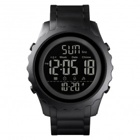 SKMEI Jam Tangan Sporty Digital Pria - 1624 - Black - 1