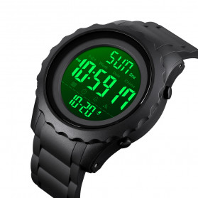 SKMEI Jam Tangan Sporty Digital Pria - 1624 - Black - 4