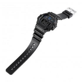 SKMEI Jam Tangan Digital Pria - 1606 - Black White - 5