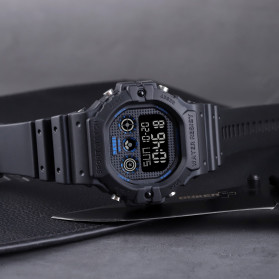 SKMEI Jam Tangan Digital Pria - 1606 - Blue/White - 10