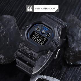 SKMEI Jam Tangan Digital Pria - 1606 - Black/Black - 3