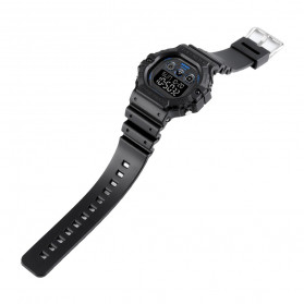 SKMEI Jam Tangan Digital Pria - 1606 - Black/Black - 5