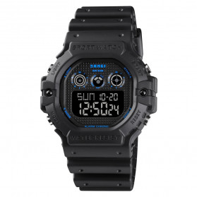 SKMEI Jam Tangan Digital Pria - 1606 - Blue/Black