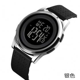 SKMEI Jam Tangan Digital Pria - 1502 - Silver - 2