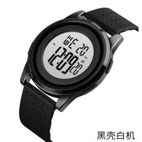 SKMEI Jam Tangan Digital Pria - 1502 - Black White
