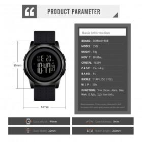 SKMEI Jam Tangan Digital Pria - 1502 - Black - 4