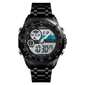 SKMEI Jam Tangan Analog Digital Pria - 1494 - Black