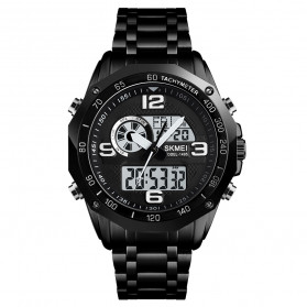 SKMEI Jam Tangan Analog Digital Pria - 1495 - Black