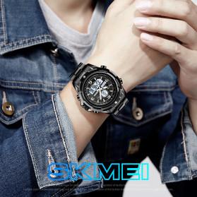 SKMEI Jam Tangan Analog Digital Pria - 1499 - Silver - 5