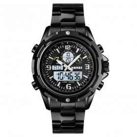 SKMEI Jam Tangan Analog Digital Pria - 1499 - Black White